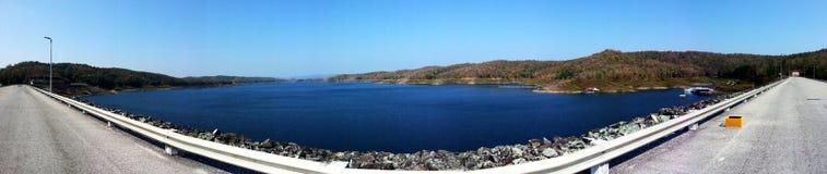 Dam reservoir Stock Photos