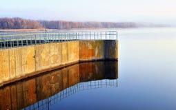Dam reservoir Stock Photography