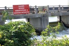 Dam Resevior Water Stock Image