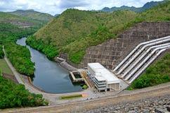 Dam and river stock photos