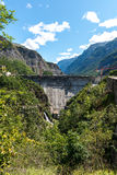Dam on the Romanche river (France) Royalty Free Stock Photography