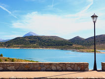 Dam of San Clemente Huescar Royalty Free Stock Images
