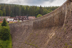 Dam in schwarzwald Royalty Free Stock Photography