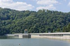 Dam See Lizenzfreies Stockfoto