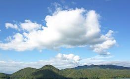 Dam sky mountain nature. Royalty Free Stock Photo