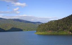 Dam sky mountain nature. Royalty Free Stock Image