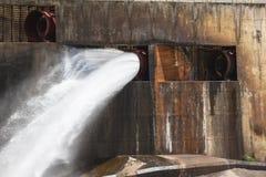 Dam Sleuth Gates Water Stock Photo