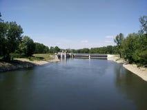 Dam in Slowakije Stock Afbeelding