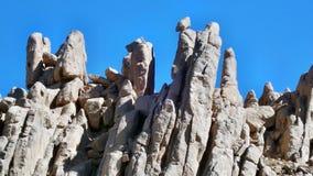 rocks -desert sahara , tamanrasset.algeria Stock Photos
