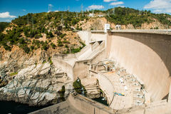 Dam in the south of Chile Royalty Free Stock Photos