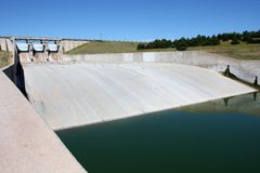 Dam Spillway Royalty Free Stock Photography