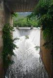 Dam spillway , Thailand Stock Images