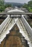 Dam Spreading Water Stock Photos