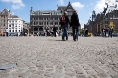 Dam Square - Amsterdam Stock Photography