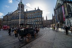 Dam square Stock Photo