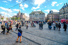 Dam square Royalty Free Stock Photos