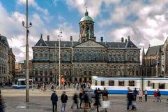 Dam Square, Amsterdam Stock Photography