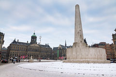 Dam square Royalty Free Stock Photography