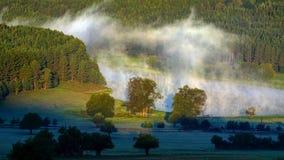 Dam in steam Stock Image