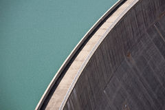 Dam in Switzerland Royalty Free Stock Photography