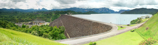 Dam in Thailand Royalty Free Stock Photography