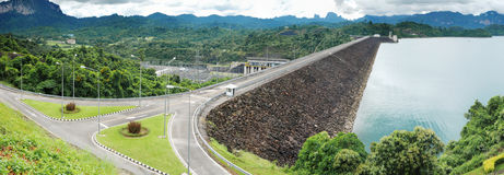 Dam in Thailand Royalty Free Stock Images
