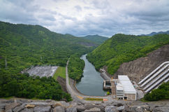 Dam in Thailand Stock Foto