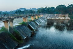 The dam Stock Photography