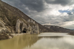 Dam Tsonevo and Wonderful Rocks. Rock formation Wonderful Rocks '' in Bulgaria Stock Photos