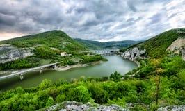 Dam Tzonevo stock photo