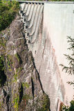 Dam in Val Verzasca (Tessin - Switzerland) Stock Photography