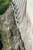 Dam in Val Verzasca (Tessin - Switzerland) Stock Photo