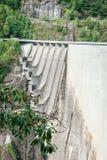 Dam in Val Verzasca (Tessin - Zwitserland) Royalty-vrije Stock Afbeelding