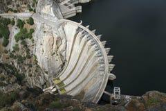 Dam van Aldeadavila Royalty-vrije Stock Foto's
