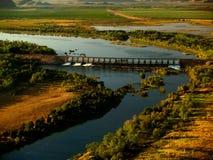 Dam van Kununurra Royalty-vrije Stock Afbeeldingen