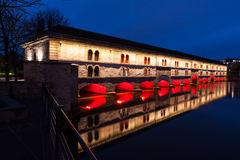 Dam of Vauban, Strasbourg, France Stock Image