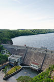Dam Vranov nad Dyji, Czech republic Royalty Free Stock Image