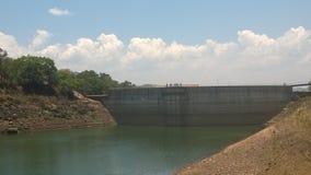 Dam Wall Royalty Free Stock Photos