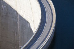Dam wall Stock Photography