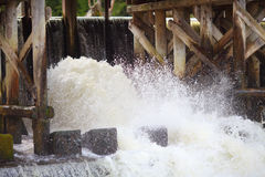 Dam for water Stock Photography
