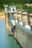 Dam and water Royalty Free Stock Photography