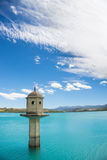 Dam whit blue sky Royalty Free Stock Photography