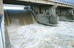 Dam in Wloclawek - Polska Stock Photos