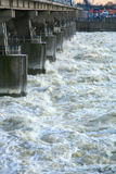Dam in Wloclawek - Polska Royalty Free Stock Images