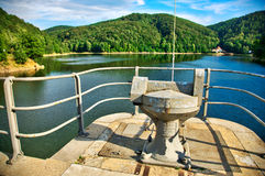 Dam in Zagorze, Poland Royalty Free Stock Photography