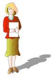 dama ilustracja wektor