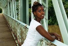 dama bridżowi stojaki Obrazy Royalty Free