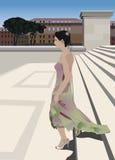 Dama de honor Stock de ilustración