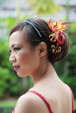 Dama de honor Imagen de archivo libre de regalías