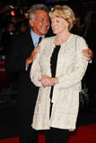 Dustin Hoffman, dama Maggie Smith Imágenes de archivo libres de regalías